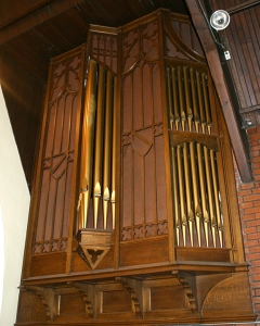 SANCTUARY ORGAN PIPES
