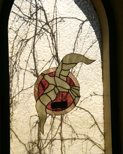 IMG_2340 STAINED GLASS DOVE AND VINES
